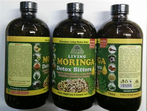 Is Moringa A Detox by Bitters Moringa Living Detox Essential Palace Inc