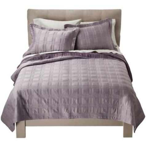 Fieldcrest Quilt by Fieldcrest 174 Luxury Silk Quilt Set Gray