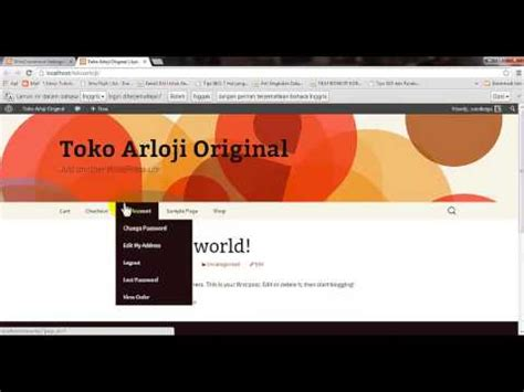 membuat website toko online sederhana part 2 download membuat website toko online sederhana part 1