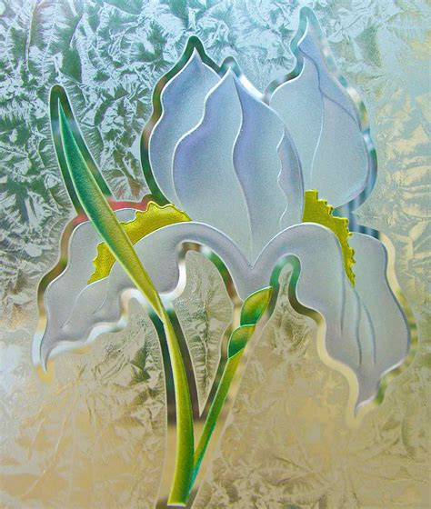 Glass Etching Designs For Kitchen by 3d Painted Gluechip Glass Etching By Sans Soucie
