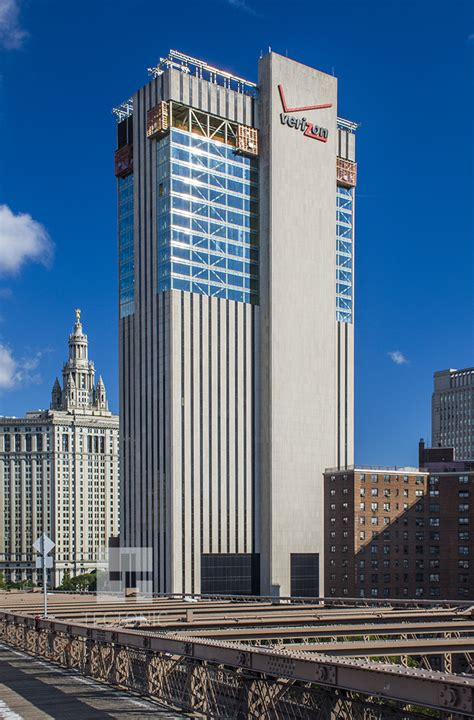 Glass Facades former verizon building at 375 pearl street gets a new