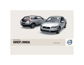 car owners manuals free downloads 2011 volvo c30 parking system download 2009 volvo c30 owner s manual pdf 274 pages