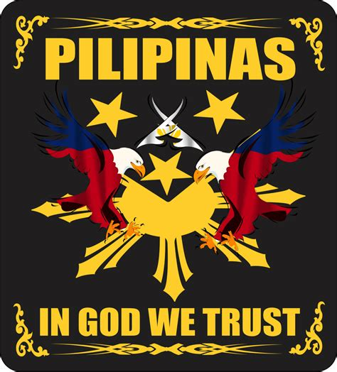 pilipinas in god we trust filipino promotional products