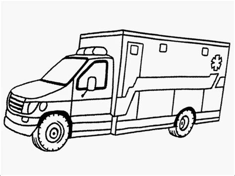 Ambulance Coloring Pages realistic ambulance coloring pages realistic coloring pages