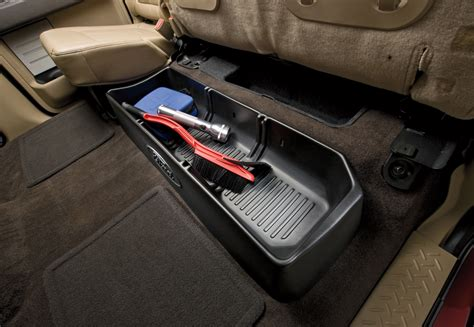 2013 F150 Interior Accessories by Cargo Organizer Cab Not For Use With Subwoofer