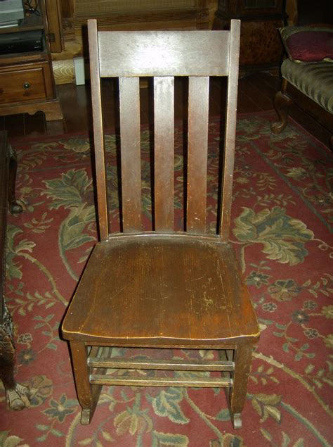 appraisal   antique rocking chairs