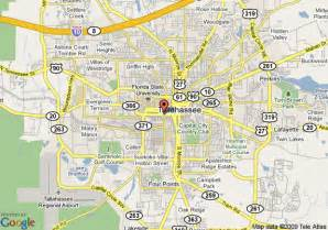 florida map tallahassee map of universities in florida