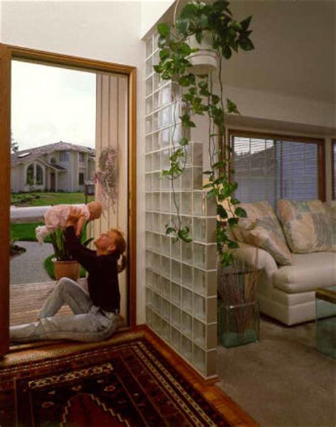 Glass Block Room Divider Smallrooms