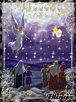 animated christmas angel graphics hark  herald angels sing picture  blingeecom