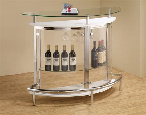 modern glass bar table modern small glass bar table unit va furniture