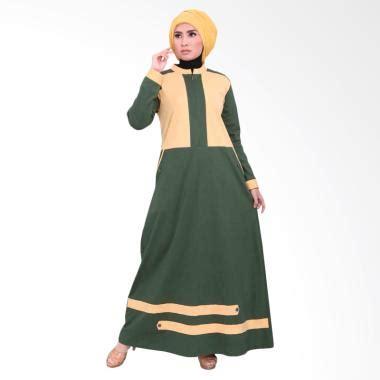 Gamis Vemmella 06 Coklat Tua jual baju muslim wanita terbaru model terbaru blibli