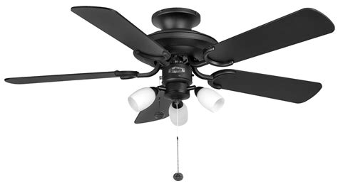 black fan with light fantasia mayfair combi 42 matt black ceiling fan light 110996