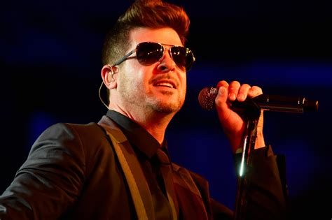Robin Hecke by Robin Thicke Restraining Order Blurred Lines Singer Loses
