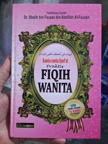 Fikih Wanita Praktis Soft Cover buku rambu rambu syari at praktis fiqih wanita toko muslim title