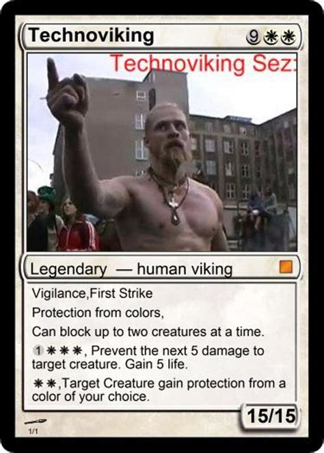 Techno Viking Meme - magic technoviking by elvenbladerogue on deviantart