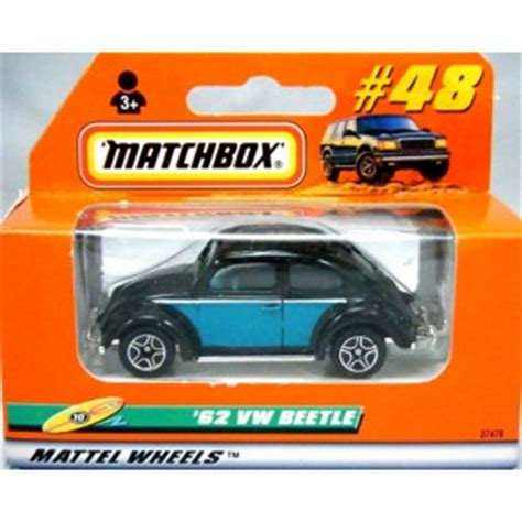 Matchbox Vw Beetle 1962 Orange matchbox 1962 volkswagen beetle global diecast direct