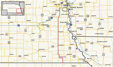 map us highway 50 nebraska highway 50