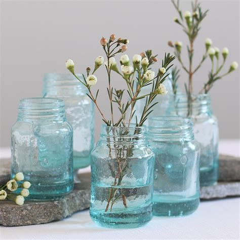 Glass Jar Vases by Vases Everything Turquoise Page 2
