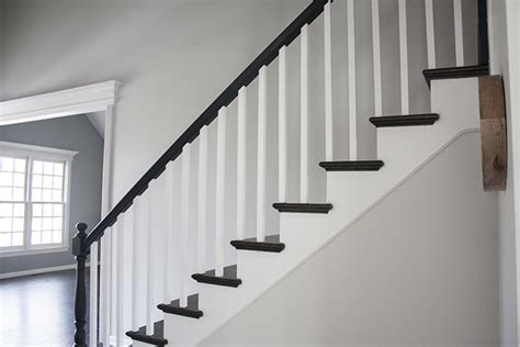 how to paint a banister black how to paint a banister black painting banisters black color and finish suggestions