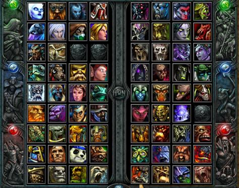 Hon Characters   hon all hero skill item builds guides updated retail