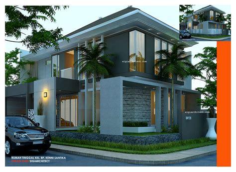 desain interior rumah hook desain rumah minimalis kavling sudut hook