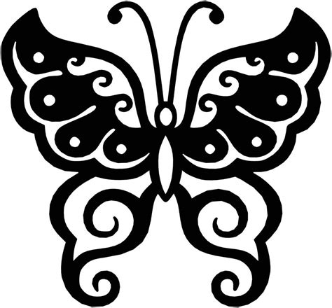 dxf templates butterfly ornaments decor free dxf files cut ready cnc