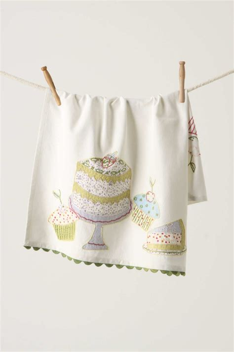 Kitchen Towels Anthropologie Cake Tea Towel From Anthropologie Interiors