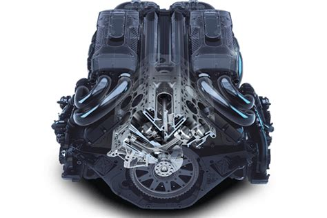 enemy  hp quad turbo  bugatti chiron engine hot rod network
