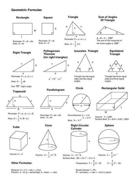 list of reasons for geometric proofs reference 17 best images about geometry cheat sheets on pinterest