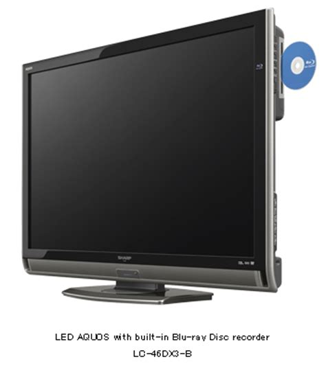 Tv Sharp Model Tabung sharp introduces eight new led aquos tvs with built in disc recorder