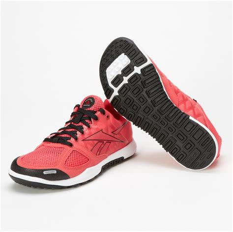 crossfit shoes flat new reebok nano 2 0 coral contrast flat grey s