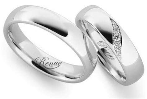 imagenes argollas de matrimonio en oro blanco argolla de matrimonio oro blanco 18k c u compromiso anillo