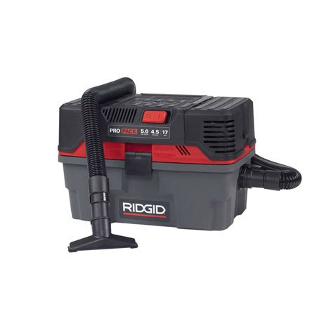 Ridgid 50318 4500rv 4 5 Gallon Propack Wet Dry Vacuum