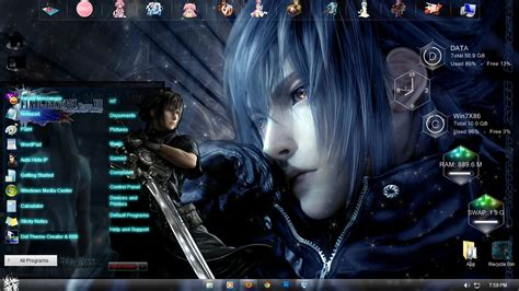 theme windows 10 final fantasy fantasy versus xiii by ht by hoangtush on deviantart