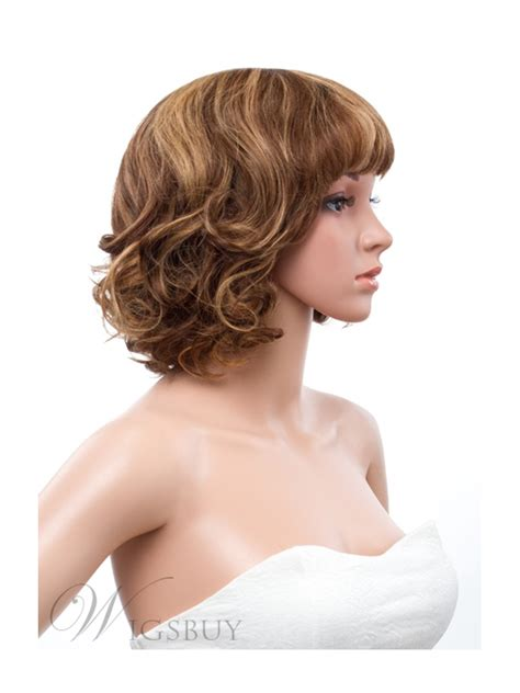 Wig Botton Curly 12 inches bottom curly capless human hair wig wigsbuy