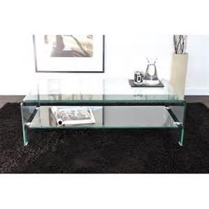 but table basse en verre rectangulaire toute en verre laissez vous s 233 duire par