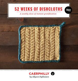 knit picks promotion code ravelry caerphilly dishcloth pattern by allyson dykhuizen