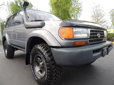 1996 land cruiser lifted 1996 toyota land cruiser lifted ome mud tires 3rd
