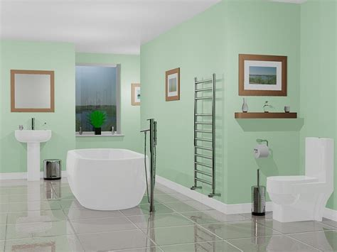 bathroom paint color ideas blue colour scheme 04 small