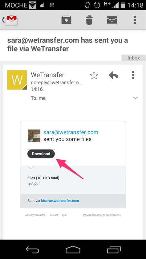 how to unzip a file on android downloading zip files on your android phone or tablet wetransfer support