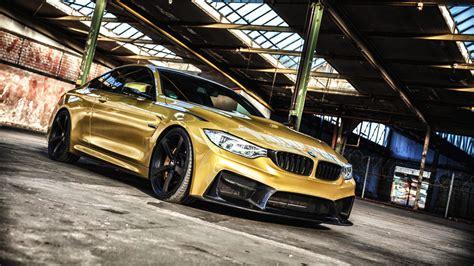 gold color cars pictures bmw f82 carbonfiber dynamics coupe gold color