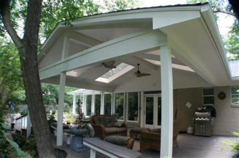 Ranch House Front Porch by Porches Archadeck Outdoor Living