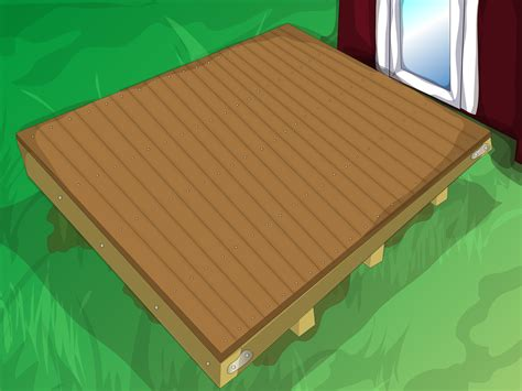 build  hot tub platform  pictures wikihow