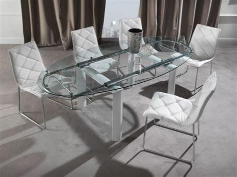 sedie per tavolo in cristallo tavolo palladio 679 tavoli cristallo allungabili tavoli