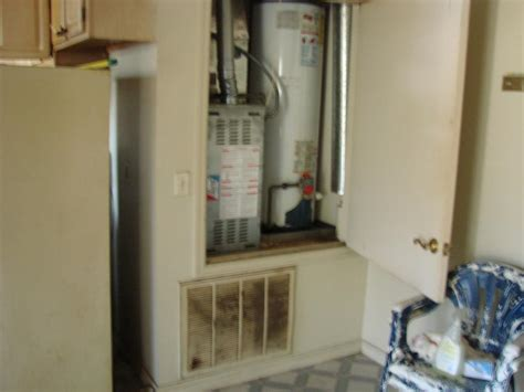 water heater in bedroom closet air handler closet retrofit building america solution center