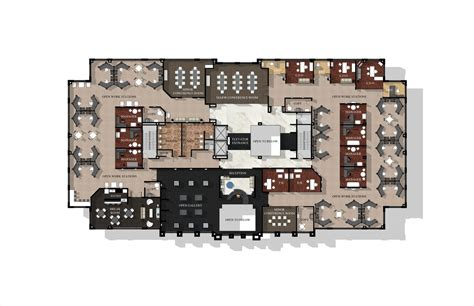 Ceo Office Floor Plan Vera Wang Corporate Office Lori Touchton Archinect
