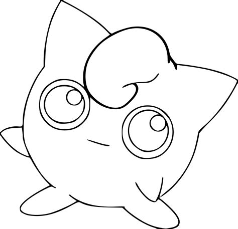 Jigglypuff Coloring Pages Pokemon Jigglypuff Coloring Page by Jigglypuff Coloring Pages