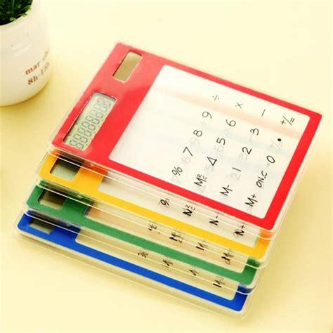 Kalkulator Slim Tenaga Solar kalkulator tenaga solar 8 digit black jakartanotebook