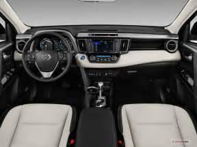 Toyota Rav 4 Interior 2017 Toyota Rav4 Hybrid Interior U S News World Report
