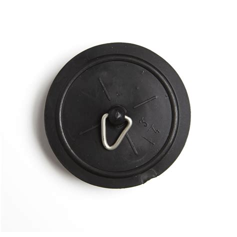 bathroom plug wilko sink bath plug black 1 1 2in at wilko com